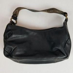 Black Fossil hobo bag